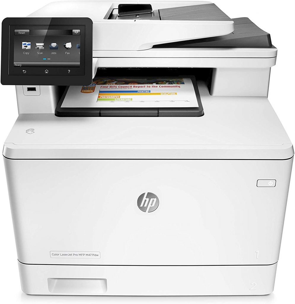 HP Color LaserJet Pro MFP M477fdw Multifunktions-Farb-Laserdrucker